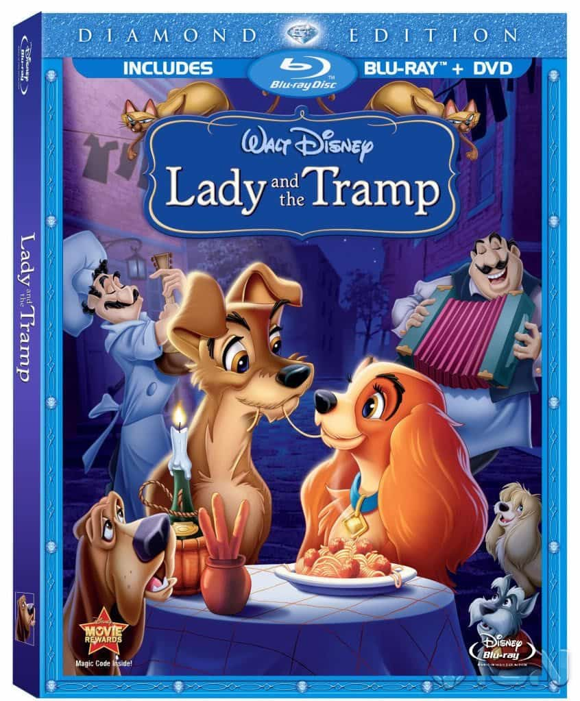 film reviews | movies | features | BRWC Lady And The Tramp On Blu-ray!