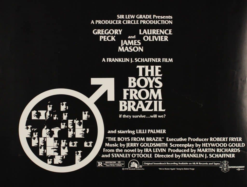 film reviews | movies | features | BRWC The Boys From Brazil (1978)- A Review And Rant