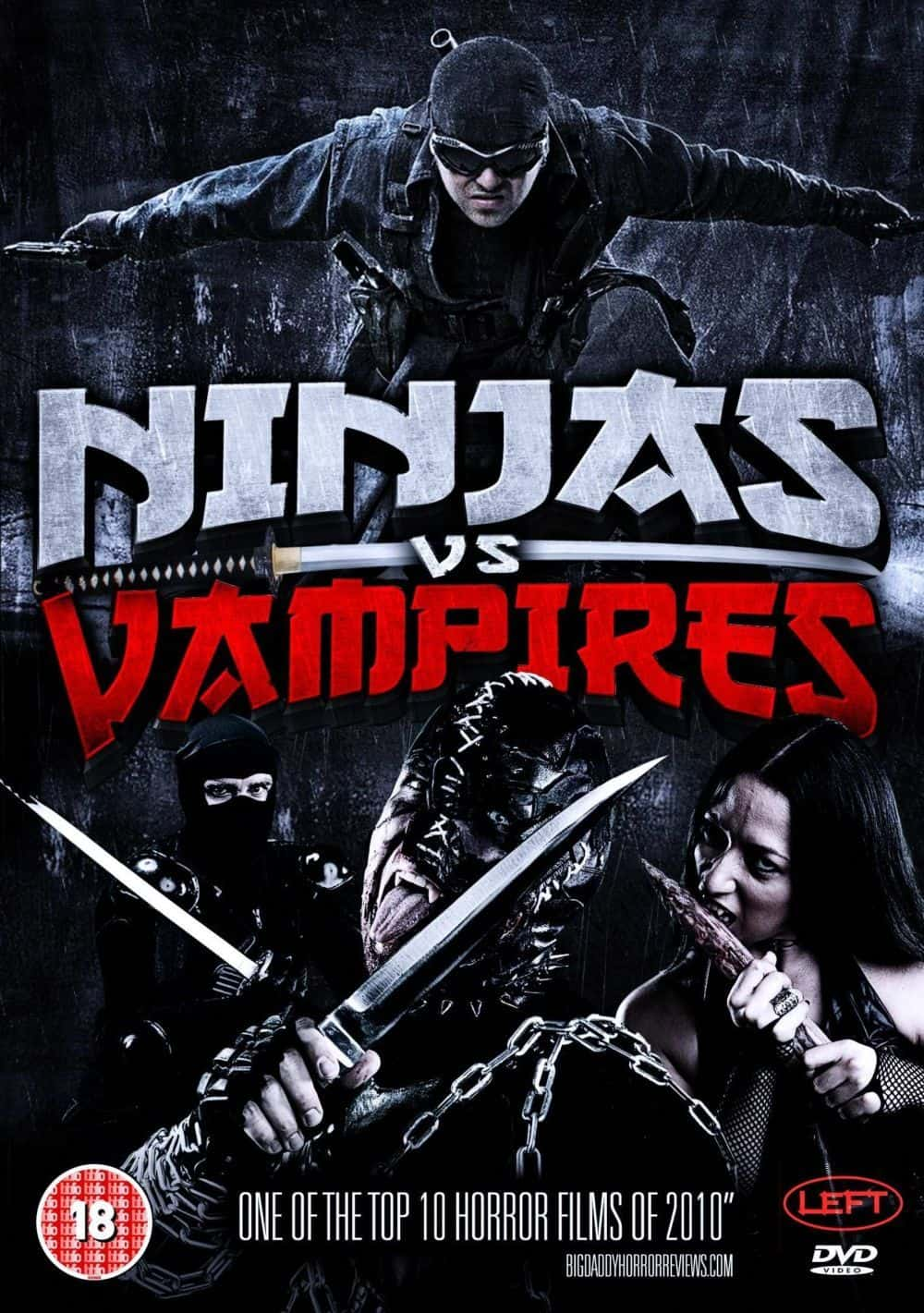 film reviews | movies | features | BRWC DVD Review - Ninjas vs Vampires