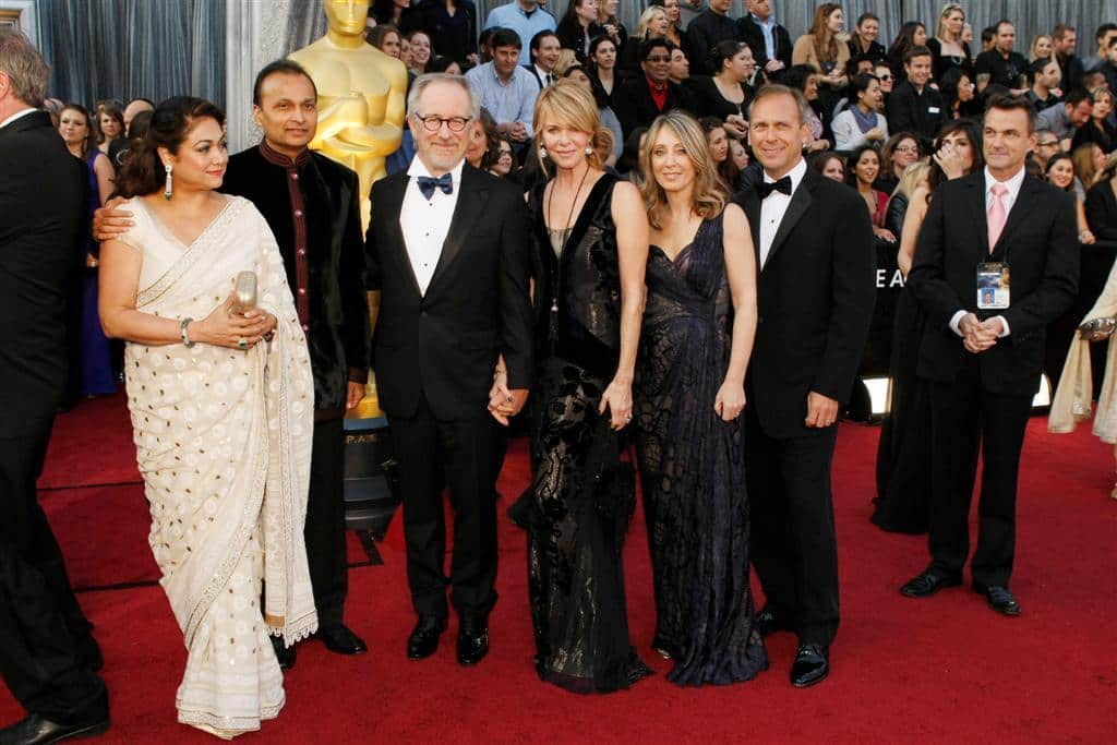 film reviews | movies | features | BRWC Spielberg & Ambani & The Oscar Red Carpet
