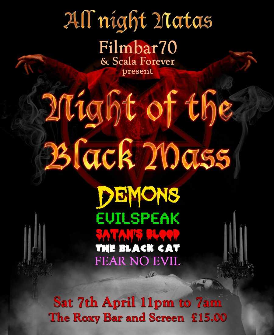 film reviews | movies | features | BRWC Night Of The Black Mass Allnighter
