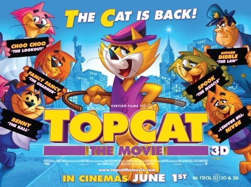 film reviews | movies | features | BRWC Top Cat: The Movie - Review
