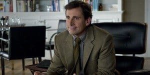 Steve Carrell as the couples relationship therapist (complete with gorgeous tweed jacket).