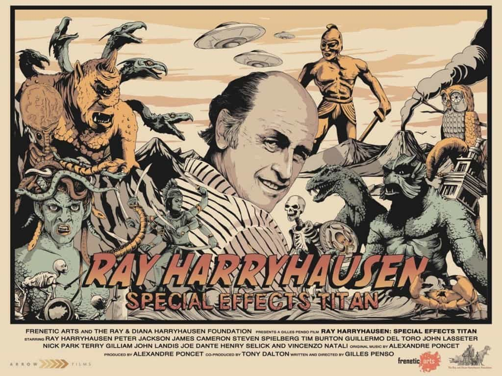 film reviews | movies | features | BRWC Ray Harryhausen: Special Effects Titan (EDIT New Poster!)