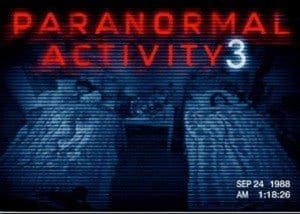 film reviews | movies | features | BRWC PARANORMAL ACTIVITY 3 (2011) Review
