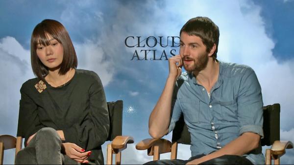 film reviews   movies   features   BRWC Cloud Atlas: Jim Sturgess & Doona Bae Chat