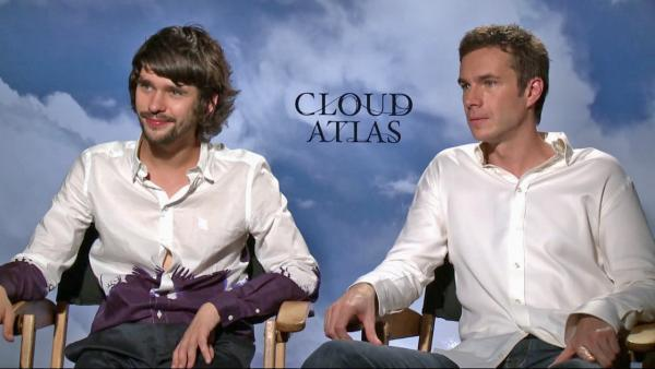 film reviews | movies | features | BRWC Cloud Atlas: James Darcy & Ben Whishaw Chat