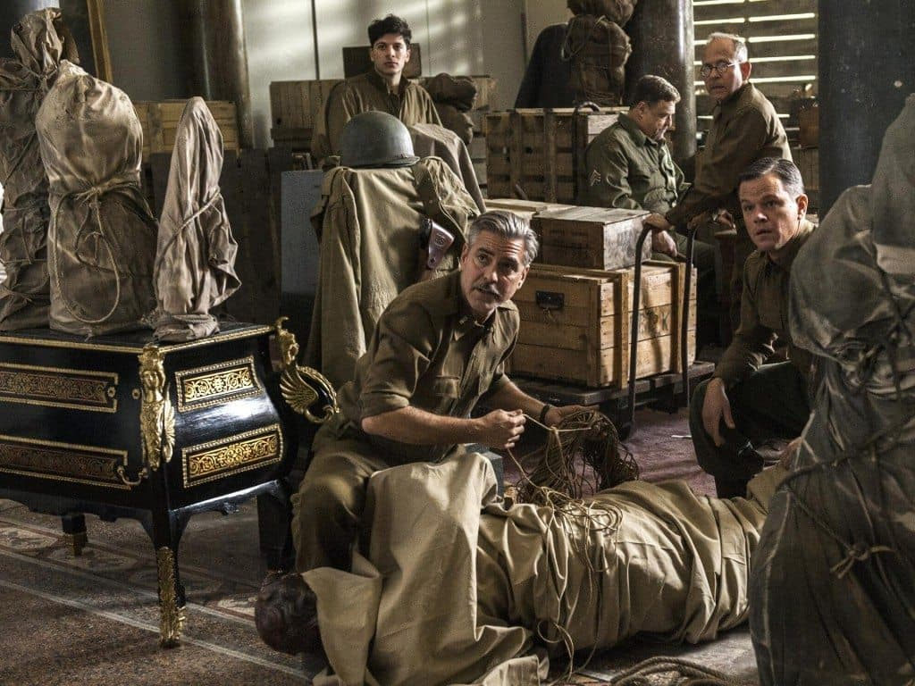 film reviews | movies | features | BRWC The Monuments Men - Review