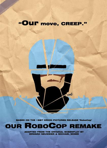 film reviews | movies | features | BRWC Our RoboCop Remake - 'Because If Anyone Us Going To Ruin RoboCop, It's Us.'