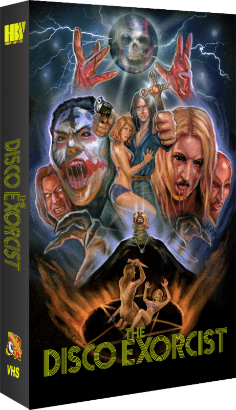 film reviews | movies | features | BRWC The Disco Exorcist & Mold! Now Available On Collector's Edition VHS