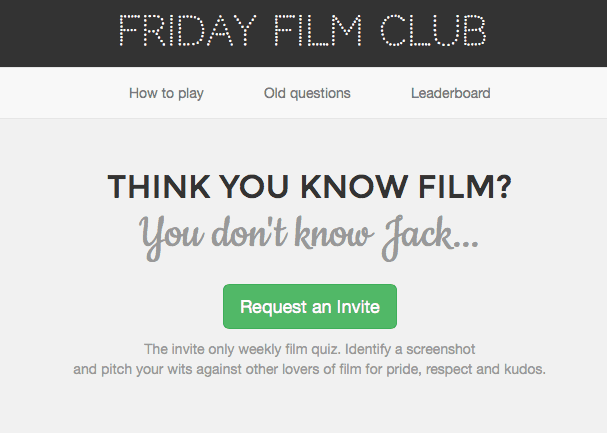 film reviews | movies | features | BRWC Friday Film Club