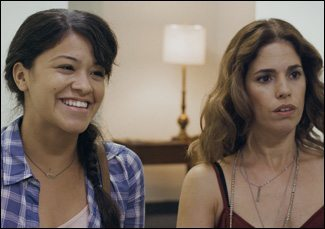 film reviews | movies | features | BRWC Gina Rodriguez & Ana Ortiz In Sleeping With The Fishes