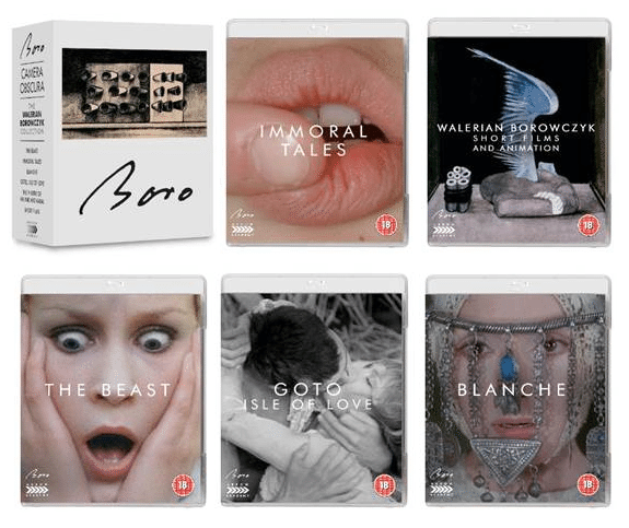 film reviews | movies | features | BRWC The Walerian Borowczyk Collection Out 8th Sept