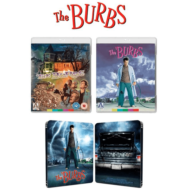 film reviews | movies | features | BRWC The 'Burbs. 15th September. Blu-ray. Steelbook.
