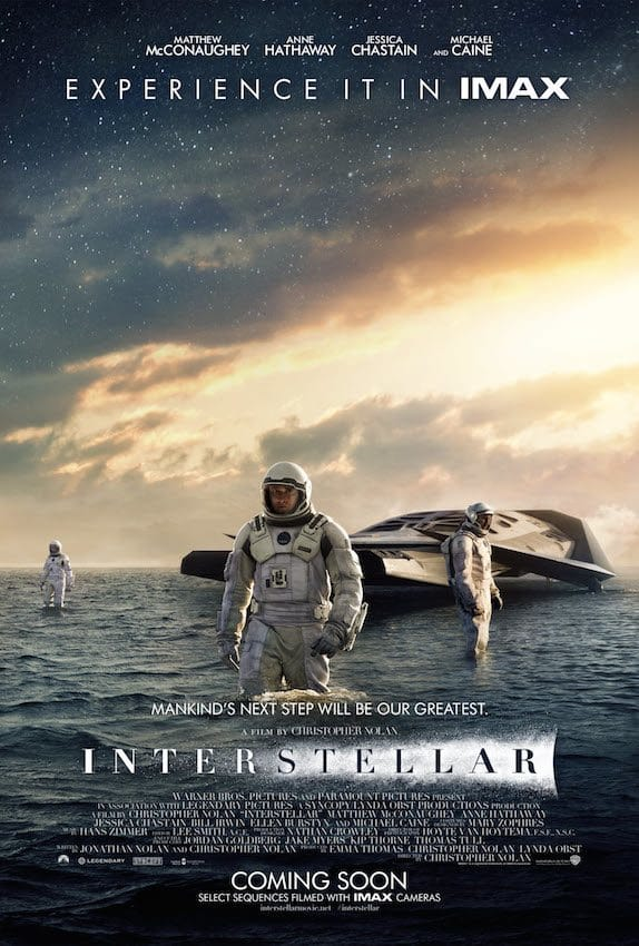 film reviews | movies | features | BRWC INTERSTELLAR: IMAX Poster Launch