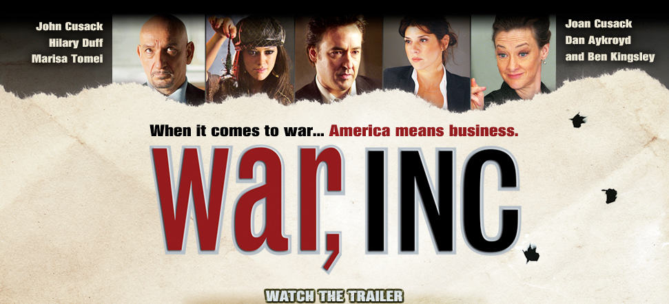 film reviews | movies | features | BRWC Movie Gem Of The Week: War, Inc. (2008)