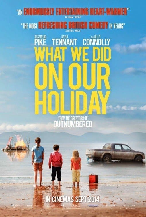 film reviews | movies | features | BRWC What We Did On Our Holiday: Review