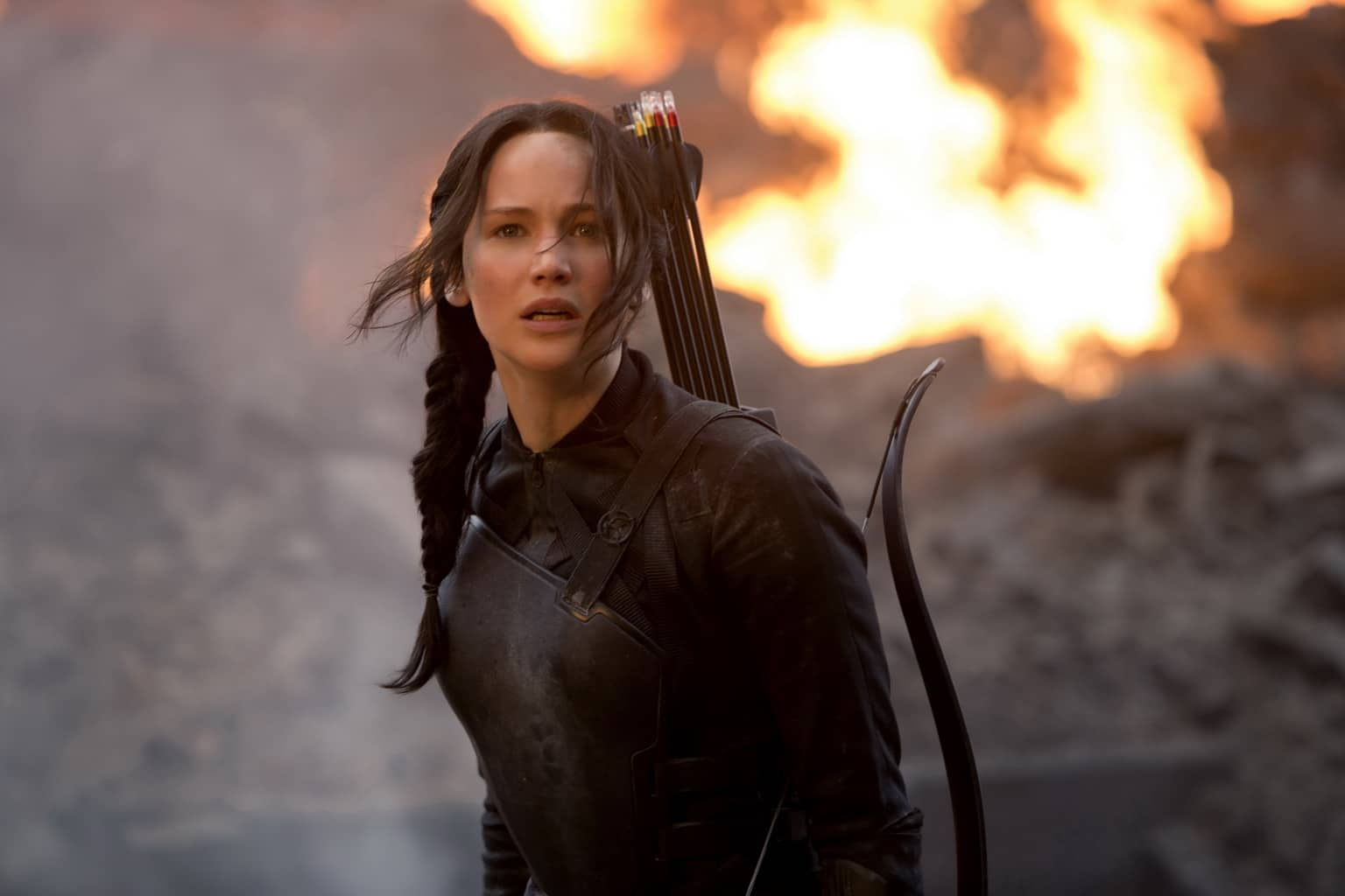 film reviews | movies | features | BRWC The Hunger Games - Mockingjay, Part 1 (Midnight Showing Review)