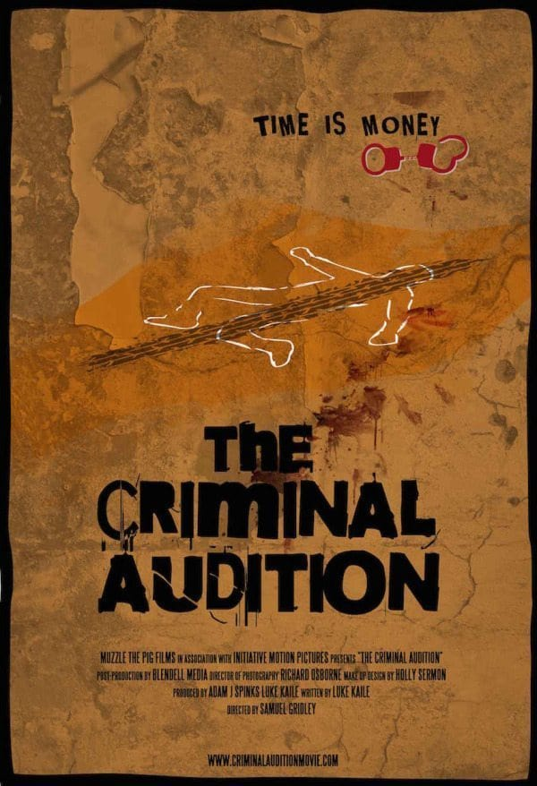 The Criminal Audition Teaser Poster Low