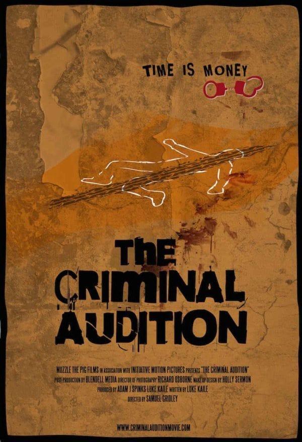 The Criminal Audition Teaser Poster Low