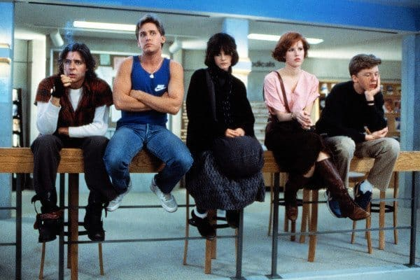 review of the movie the breakfast club They're not teenagers anymore: the adolescent archetypes who populated the breakfast club turn 30 this weekend — the film was released on feb 15 in 1985 — and are celebrating with a planned theatrical rerelease but, when the movie was originally released, their teen-dom wasn't necessarily.