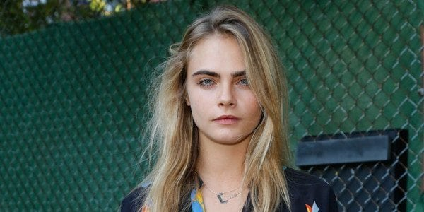 NEW YORK, NY - JUNE 05:  Cara Delevingne attends the Stella McCartney Spring 2015 Presentation at Elizabeth Street Gardens on June 5, 2014 in New York City.  (Photo by JP Yim/Getty Images)