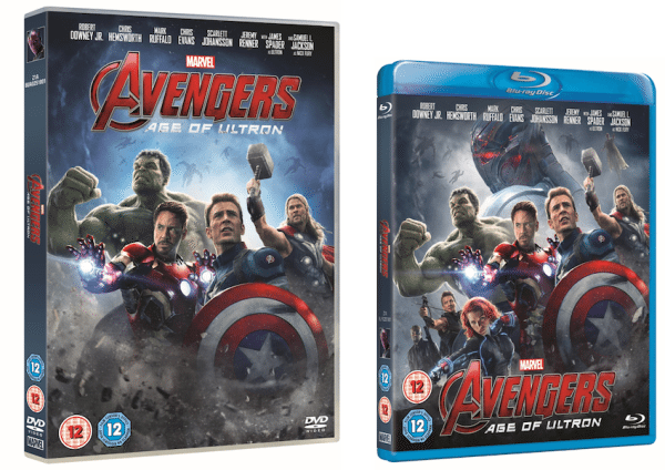 AVENGERS AOU_DVD & Bluray