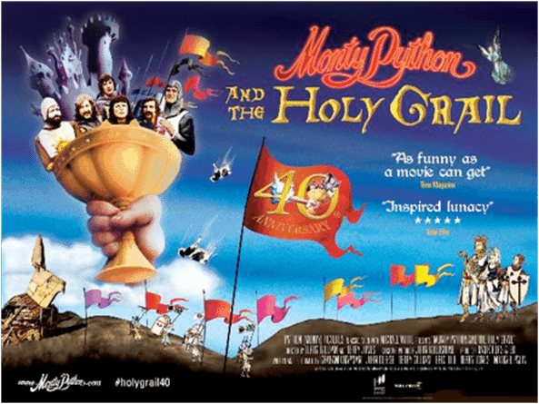 film reviews | movies | features | BRWC Pythons Talk THE HOLY GRAIL