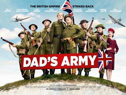 film reviews | movies | features | BRWC The Dad's Army Trailer Is Out