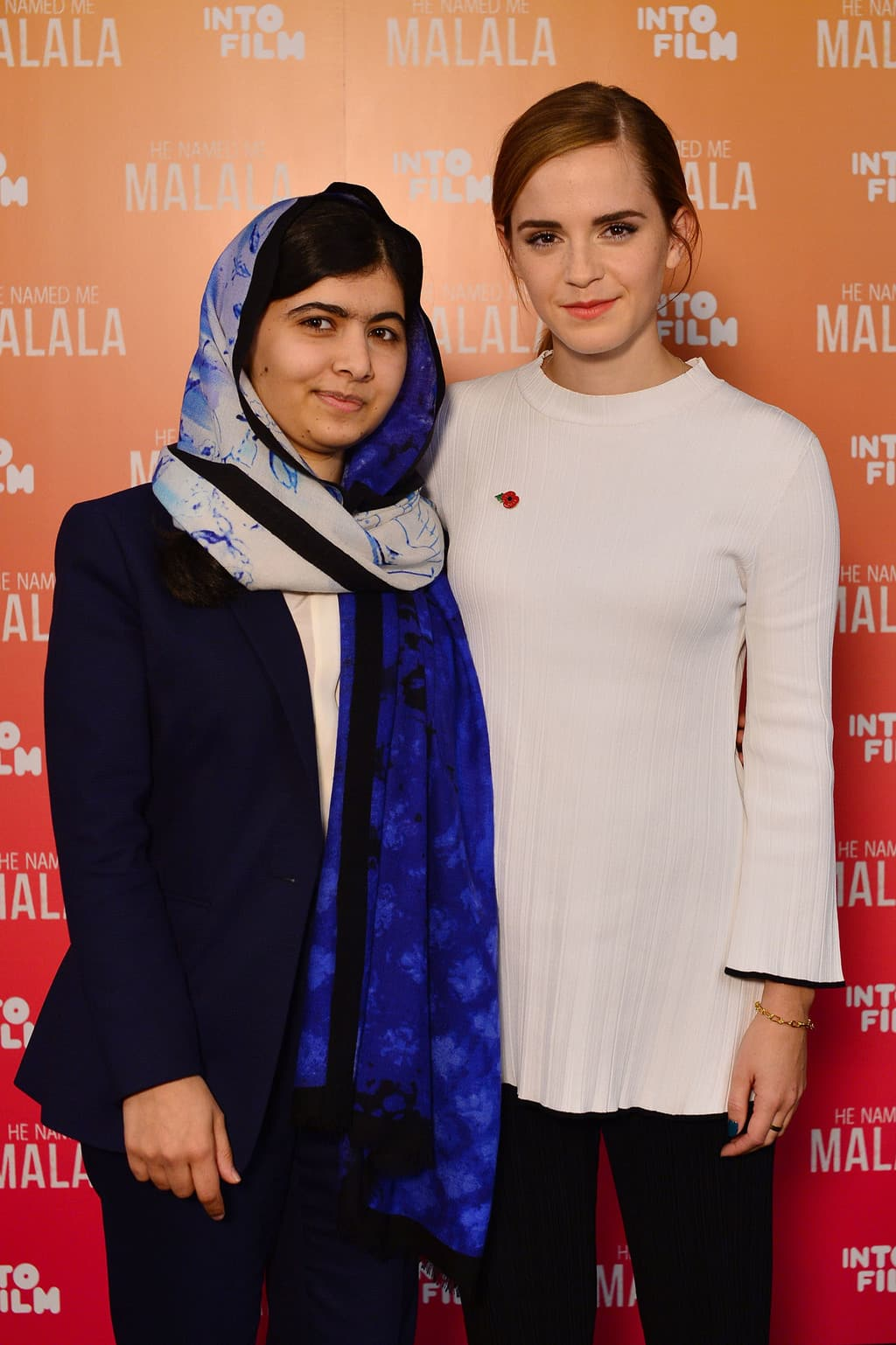 film reviews   movies   features   BRWC Emma Watson Meets Malala Yousafzai
