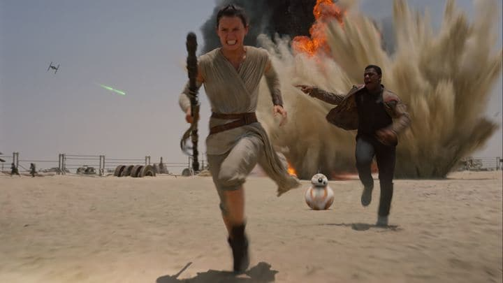 film reviews | movies | features | BRWC Star Wars: The Force Awakens - Review