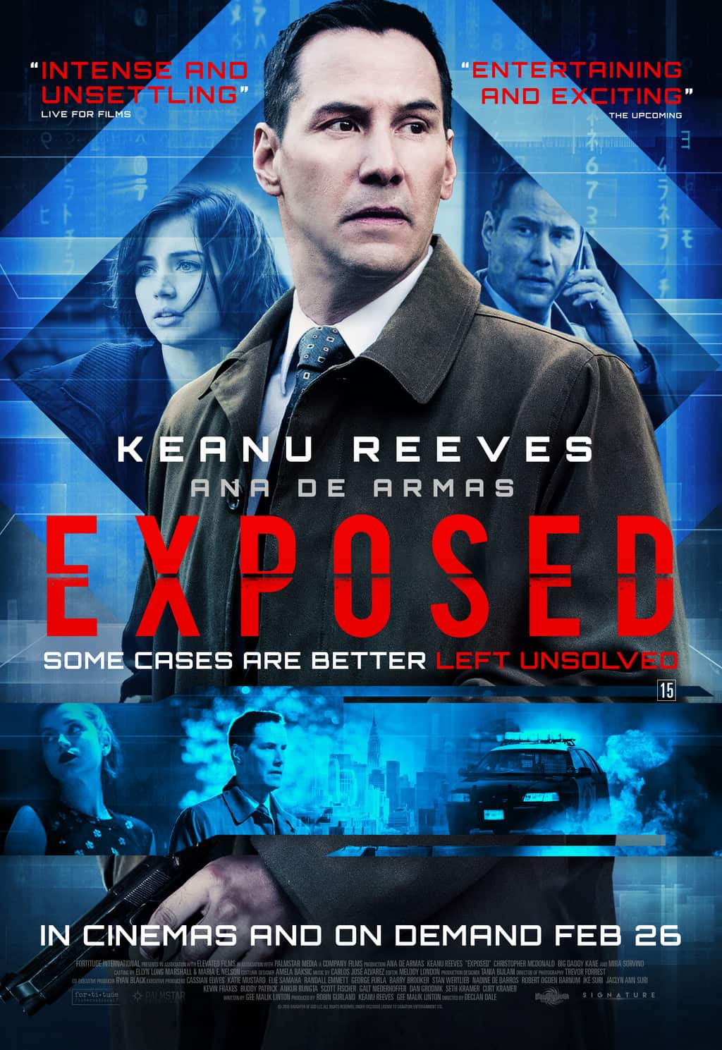 film reviews | movies | features | BRWC New Poster & Clip For Keanu Reeves Thriller Exposed