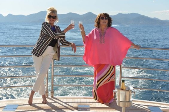film reviews | movies | features | BRWC Absolutely Fabulous: The Movie - First Glimpse