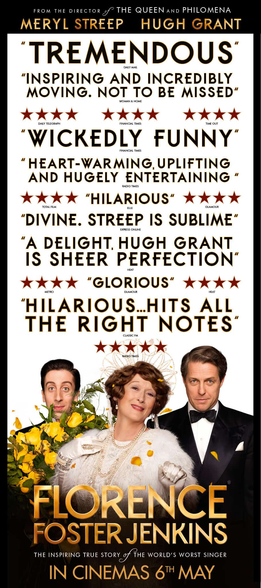film reviews | movies | features | BRWC FLORENCE FOSTER JENKINS