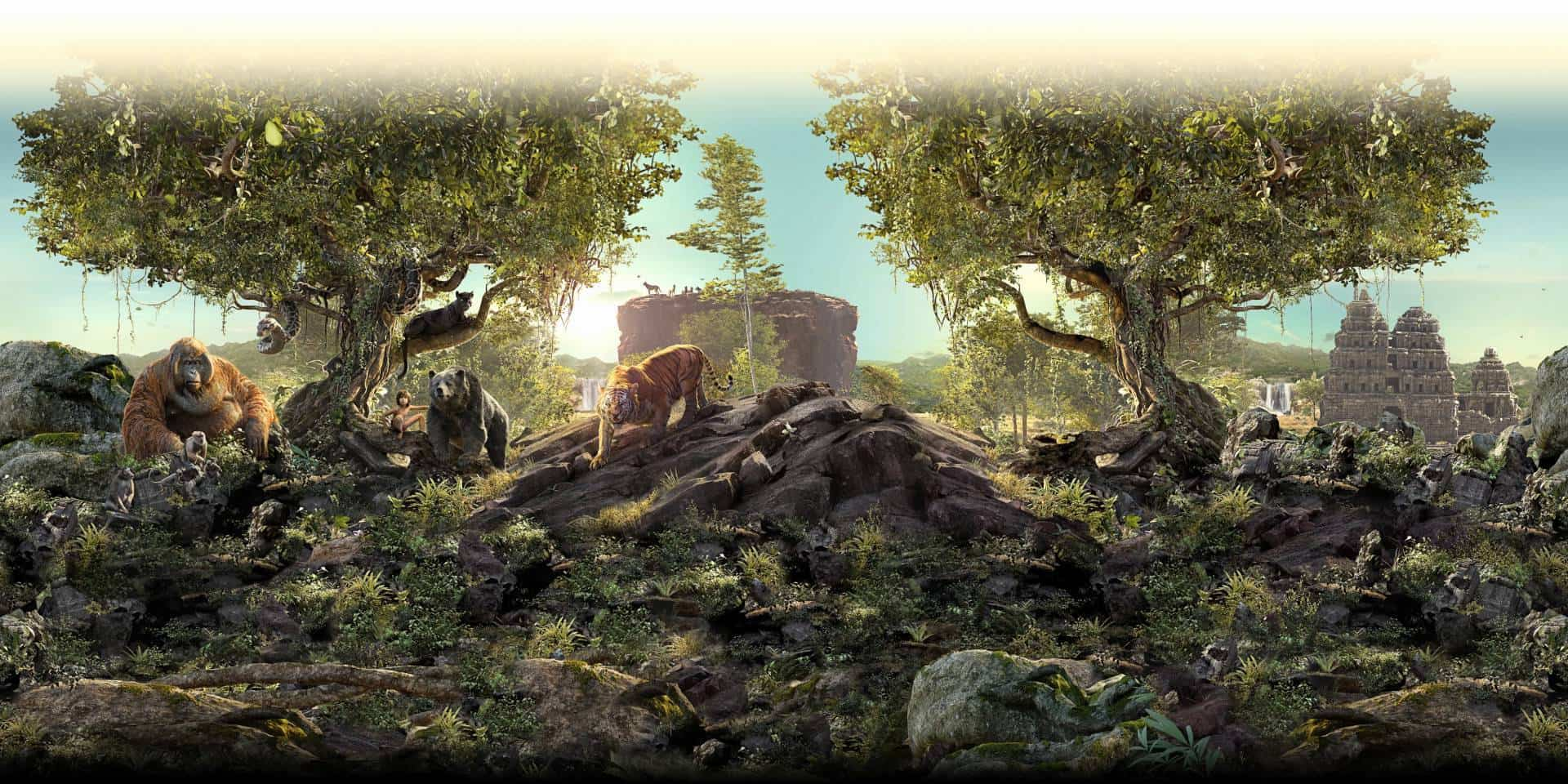 The Jungle Book 3D Featurette
