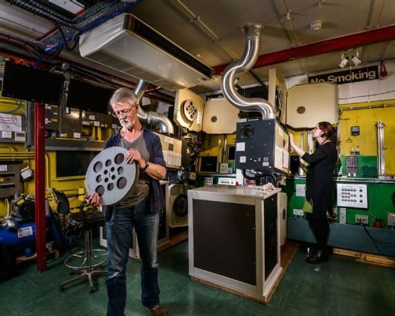 film reviews | movies | features | BRWC Secrets Of The Cinema Projection Box Revealed