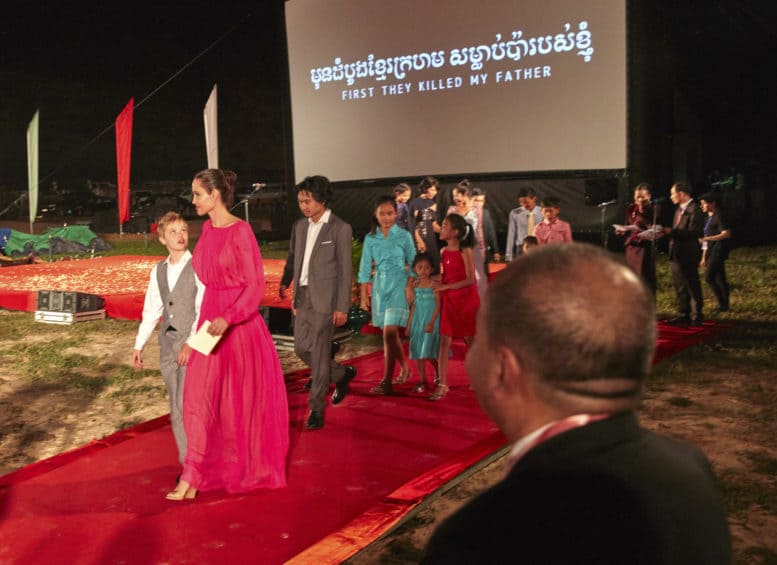 First They Killed My Father - Cambodian premiere