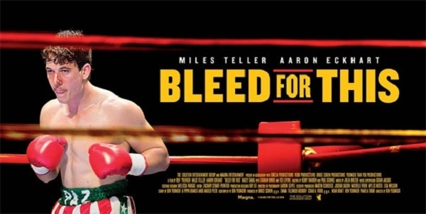 film reviews | movies | features | BRWC Bleed For This (2016) - Blu-Ray Review