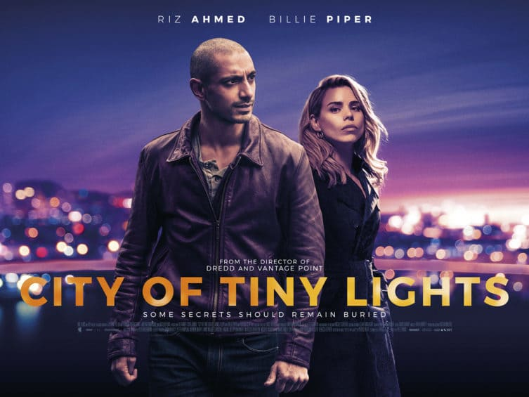 Riz Ahmed launches UK poster for CITY OF TINY LIGHTS