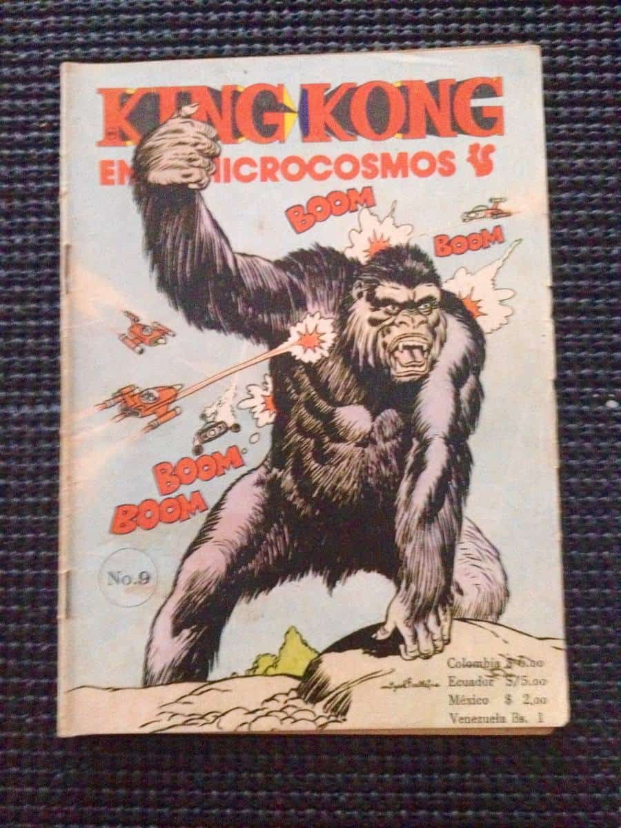 King Kong In The Microcosmos