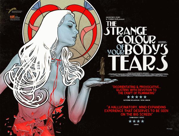 The Strange Colour of Your Body's Tears (dir Hélène Cattet & Bruno Forzani, 2013)