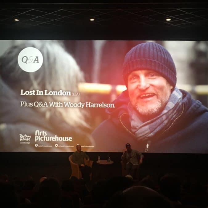 Lost In London With A Woody Harrelson Q&A