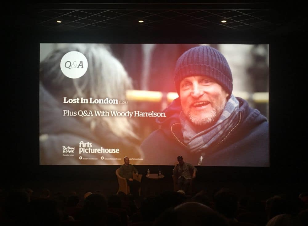 film reviews | movies | features | BRWC Lost In London With A Woody Harrelson Q&A