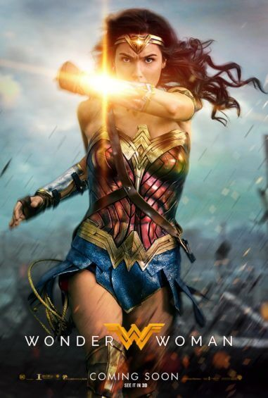 BRAND NEW: Wonder Woman 'Deflection' Art