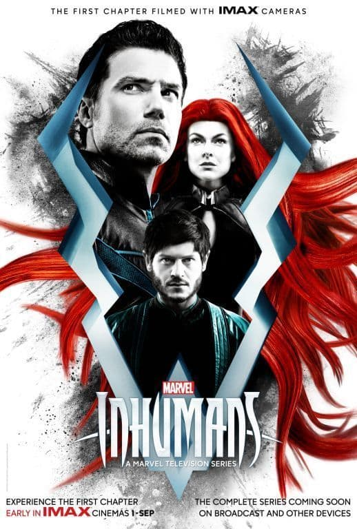 IMAX and Marvel Reveal New Inhumans Poster