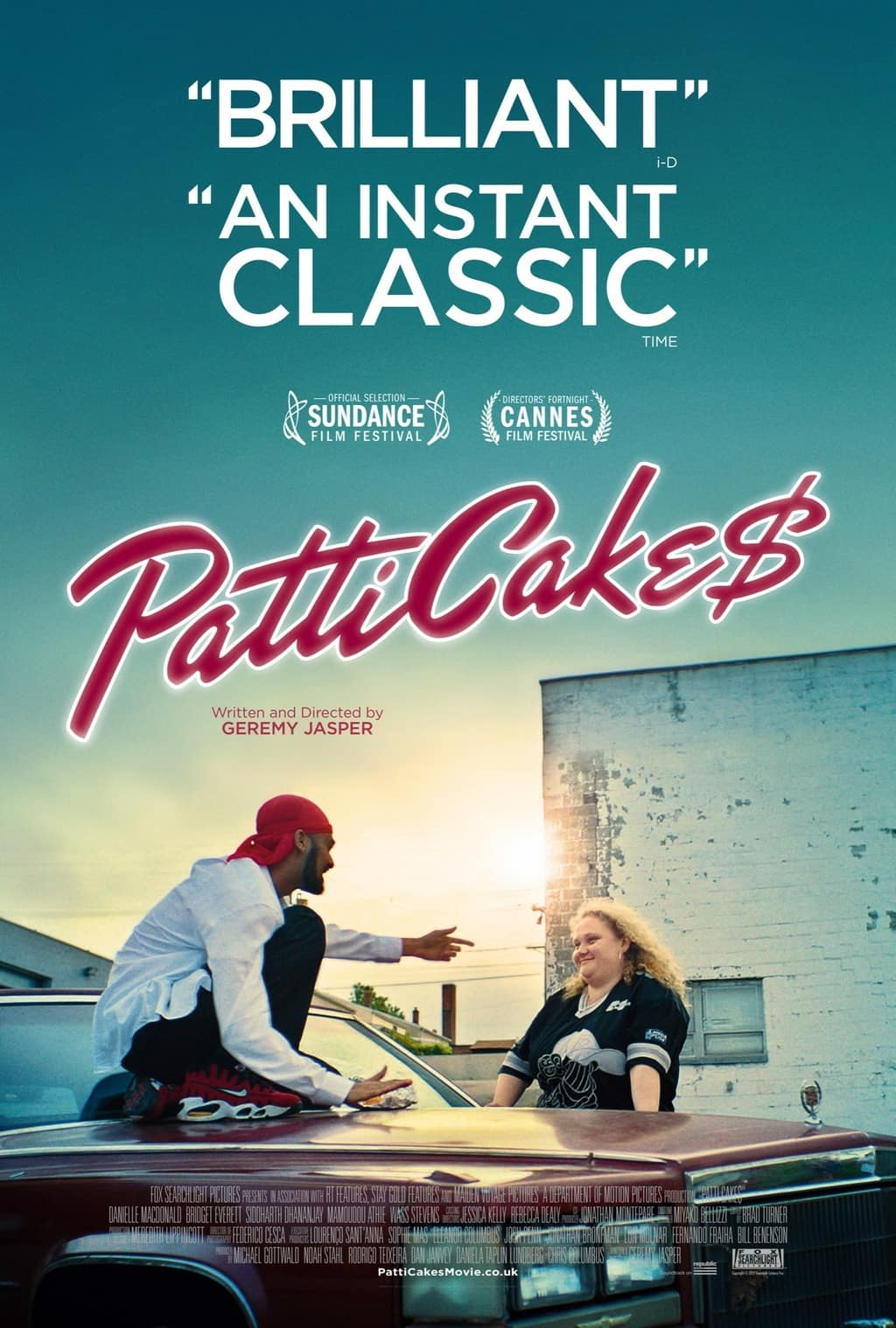 The new poster for PATTI CAKE$