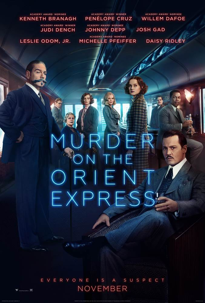 MURDER ON THE ORIENT EXPRESS // Official Poster