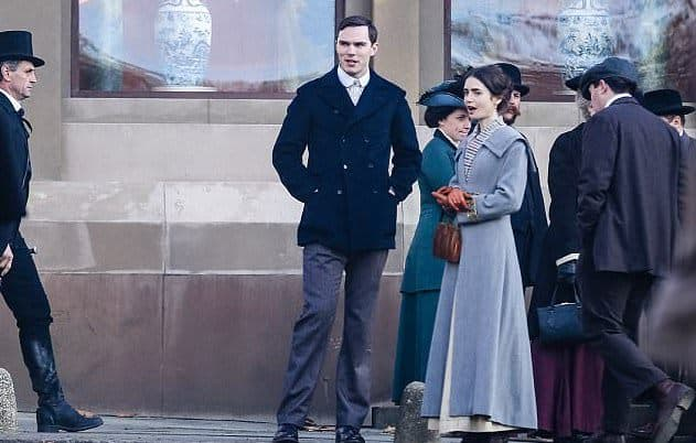 NICHOLAS HOULT AND LILY COLLINS STARRING IN 'TOLKIEN' DIRECTED BY DOME KARUKOSKI
