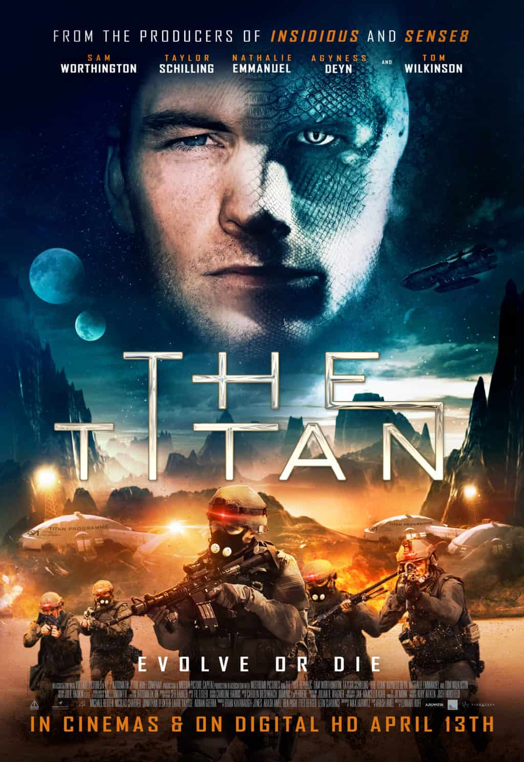 The Titan Has A Poster