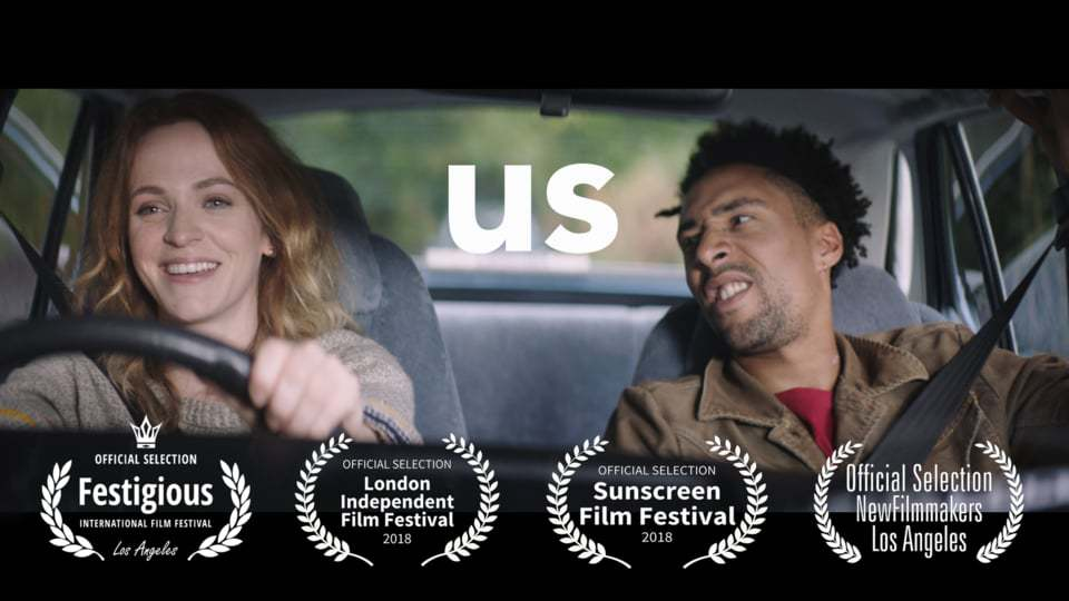 US is a dramatic short film written/directed by Will Darbyshire starring Lucinda Dryzek and Laurence Ubong Williams.